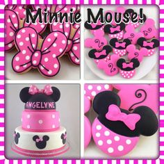 Minnie Mouse Party Pack - Cake and Cookies
