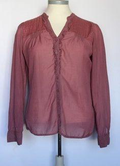 Kaufe meinen Artikel bei #Kleiderkreisel http://www.kleiderkreisel.de/damenmode/blusen/138279862-langarm-bluse-in-trendigem-beeren-ton