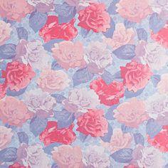 Обои флизелиновые 1.06х10 м цветы цвет сине-красный АС 307071
