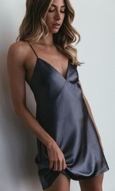 Get the party started in the perfect silky satin mini slip dress - destined to become a wardrobe favourite: wear with heels or a sneaker. Slip Bridesmaids Dresses, Satin Dresses, Lit Outfits, Holiday Outfits, Simple White Dress, Mini Slip Dress, Stunning Wedding Dresses, Silk Slip, Pretty Lingerie