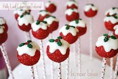 christmas pop cakes - Google Search