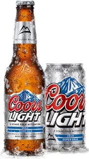 Coors light beer..EST. 1978