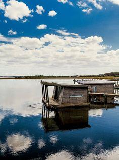 Cabañas flotantes de Laguna Garzón Lodge. Uruguay.