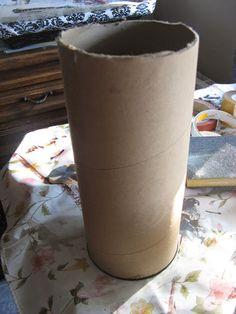 Tubo de cartón reciclado