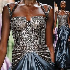 Reem Acra Fall 2016 @reem_acra // #fashion #art #couture #fashionweek #runway #style #moda #detail #sequins #details #color #couturefeast #blog #chic #glam #edgy #girly #fashionista #fashionblog #designer #modern #classy #inspiration #hautecouture #trend #accessories #fashionable #flowers #embroidery #reemacra