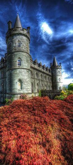Inveraray Castle, Argyll, Scotland...