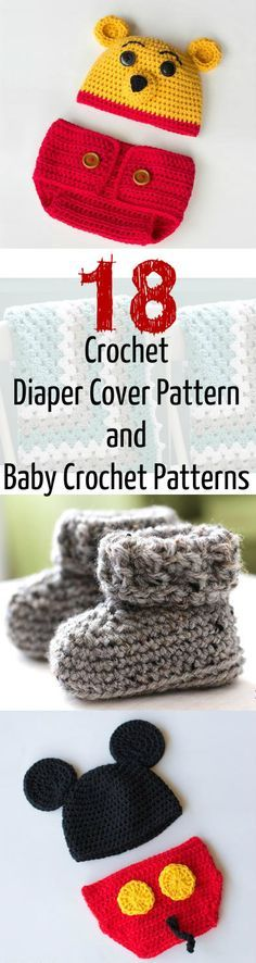 There's nothing more adorable than these baby crochet patterns!