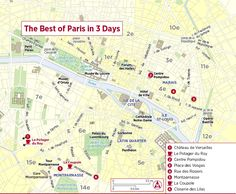 I Personally Love FROMMERS Heres A Link To Their And Day - Paris things to do map