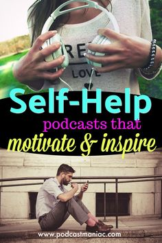 A brief description of the best self-help podcasts that can help you overcome your biggest obstacles. Discover how to achieve success in all aspects of life. What Causes Depression, Depression Self Help, Self Development, Personal Development, Ted Talks, Best Self, The Life, Self Improvement, Everything