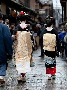 舞妓と芸妓 Maiko & Geiko kyoto,japan