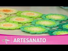 Vida com Arte | Trilho de mesa degradê por Cris Vasconcellos - 15 de Setembro de…
