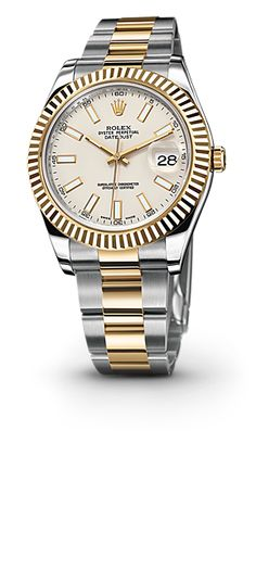 Rolex Datejust II Watch: Yellow Rolesor - combination of 904L steel and 18 ct yellow gold – M116333-0005