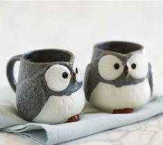 Owl mugs - Super cute :)