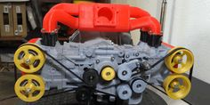 Someone 3D Printed a Mini Subaru Engine and It's Lovely