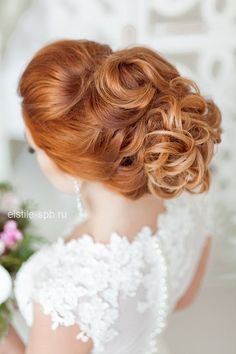 wedding hairstyle - via http://elstile-spb.ru