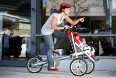 Taga designed an award winning vehicle for parents and children that combines a cargo bicycle and a luxury baby stroller. Taga is a fun, safe, and stylish alternative to a bike trailer or child bike seat. My Bebe, Bike Seat, Kids Bike, Mother And Baby, New Parents, Cool Baby Stuff, Future Baby, Baby Love, Baby Strollers