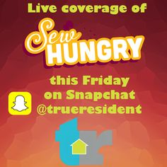Follow us on Snapchat!! You won't be disappointed!! #hamont #trueresident #sewhungry Disappointed, Hamilton, Snapchat, Events