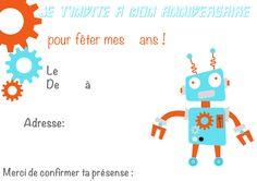 anniversaire Robots, de chouettes idées sur ma cabane à idées