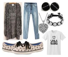"""""""Untitled #45"""" by megan-hinson ❤ liked on Polyvore featuring Momewear, JVL, Target, Bling Jewelry and Keds"""