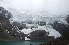 Le glacier de l'Huaytapallana