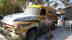 56 Ford Truck, Rust, Van, Delivery, Trucks, American, Vehicles, Truck, Car