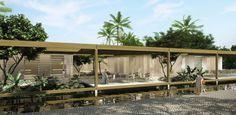 Galeria - Menção Honrosa no Concurso para o Centro Cultural de Eventos e Exposições em Paraty / Filipe Gebrim Doria - 2