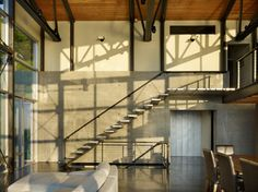 West Seattle Residence - contemporary - staircase - seattle - Lawrence Architecture