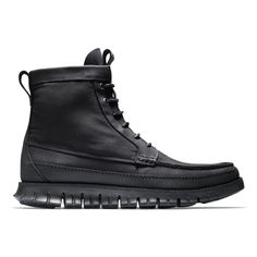 Three Blacked-out Boots For Fall: Keeping it simple but never basic with mixed materials in a monochromatic colorway