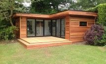 L Shape Contemporary Garden Room