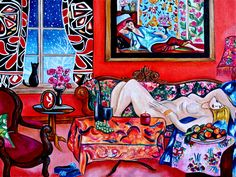 ... matisse 11 x 14 matisse oil painting on canvas art within art series