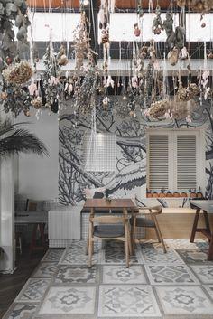 Cafe Interior, Patio, Outdoor Decor, Kitchen, Home Decor, Cooking, Decoration Home, Terrace, Room Decor