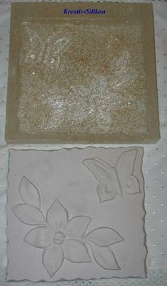 Negativform Barock Stuck Ornamente Silikon NEUH... von glastropfen´s Kreativwerkstatt auf DaWanda.com