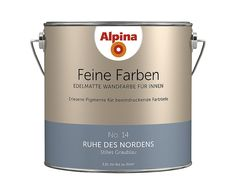 Projekt Wohnung Alpina Feine Farben - precious matt wall paint for the interior, all colors, ca Wall Colors, House Colors, Ad Home, Roomspiration, How To Make Bed, Color Pallets, Home And Living, Living Room, All The Colors