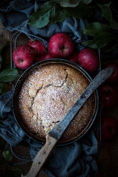 Apfel-Grieß-Kuchen – Vegan-zu-Tisch