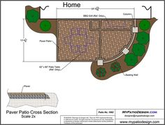 Patio Layout