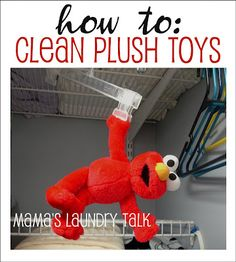 "Have a Plush that has been ""loved"" to death and needs cleaning-Follow these tips"