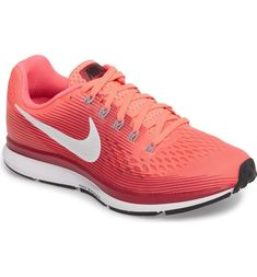 low priced 3a595 4949c Nike Air Zoom Pegasus 34 Running Shoe (Women) in Racer Pink. Springy and  sprightly, Nike s iconic Air Zoom Pegasus running shoe is built for speed  without ...