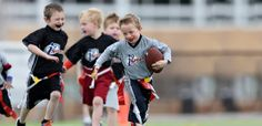 Sports offers youth sports leagues, camps & clinics with a focus on fun & safety. We aim to help kids succeed in life through youth sports. Youth Flag Football, Tackle Football, Football Program, Games For Boys, Perfect Game, Boy Or Girl, Sports, Kids, Hs Sports