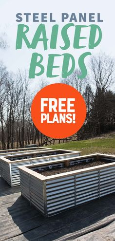 A full tutorial on how to build Galvanized Steel Raised Beds, why they are better than any other types of raised beds, and how to turn them into easy cold frames. Garden All About Our New Galvanized Steel Raised Beds (Free Plans! Raised Garden Bed Plans, Building Raised Garden Beds, Raised Beds, Raised Planter Beds, Garden Types, Raised Vegetable Gardens, Vegetable Gardening, Raised Gardens, Backyard Makeover