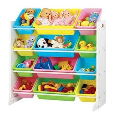 Tot Tutors Pastel Toy Organizer
