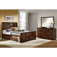 Bedroom Furniture The Toronto Collection Toronto Queen Storage Bed