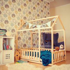 Betten Haus Ist Ein Toller Ort Für Kinder, Wo Sie Schlafen Und Spielen  Können