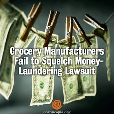 A Thurston County judge last week rejected efforts by the Grocery Manufacturers Association to squelch a lawsuit in which state Attorney General Bob Ferguson accuses the Washington, D.C.-based lobby of laundering millions of dollars in last fall's campaign. More here: http://www.cornucopia.org/2014/06/grocery-manufacturers-fail-squelch-money-laundering-lawsuit #GMA #GMOs #righttoknow #food Yes on 522