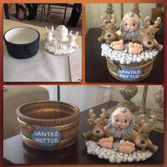 Caramelera Noel ceramica