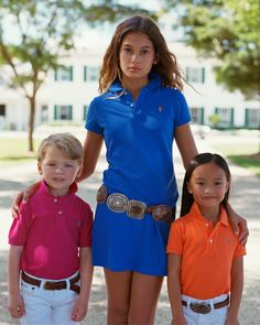 Southern Prep, Children, Kids, Prepping, Polo Shirt, Ralph Lauren, American, Shirts, Women