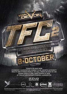 TFC 2 and Van Demon Promotions by Elitivia, via Behance