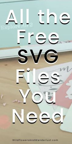 Here's the ultimate list of free SVG files - where to find them and how to use them. Bookmark it so that you can always find it because we update it often and there are lots of SVG files to choose from. They work on a cricut, silhouette, brother cutting Cricut Air 2, Cricut Help, Cricut Vinyl, Inkscape Tutorials, Cricut Tutorials, Cajas Silhouette Cameo, Silhouette Cameo Shirt, Silhouette Cameo Freebies, Cricut Explore Projects