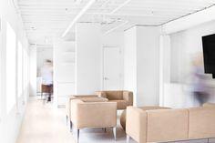 interiors — avery klein White Decor, Minimalism, Interior Design, Exhibit, Brand Identity, Commercial, Interiors, Marketing, Furniture