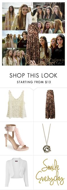 Reign~Lady Kenna~1x01~Pilot by tvshowobsessed on Polyvore featuring Phase Eight, Roberto Cavalli, BCBGMAXAZRIA, WALL and Episode