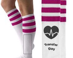 IVF Embryo Transfer Day Socks, Infertility Socks